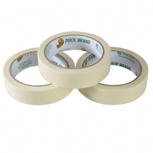 Shurtape 260121 Duck Tape All Purpose Masking Tape 25mm x 50m Pack of 3